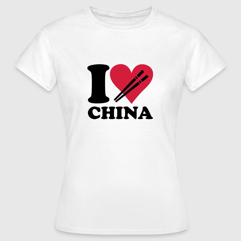 China - I love China - Women's T-Shirt