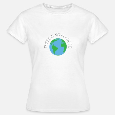 Planet There is no planet B! - T-shirt dam