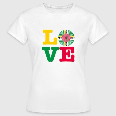 DOMINICA HEART - Women's T-Shirt