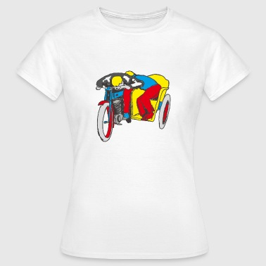 Pop Up POP UP SIDE CAR - Women's T-Shirt