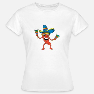 Mexican Funny Mexican Chili Pepper Funny Mexican - Women's T-Shirt