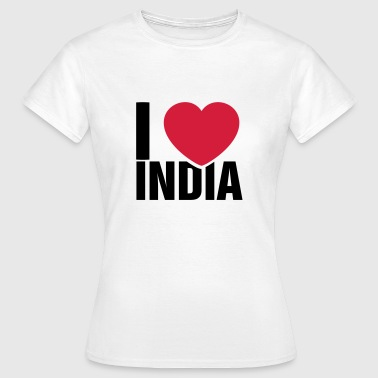 I love India - Women's T-Shirt