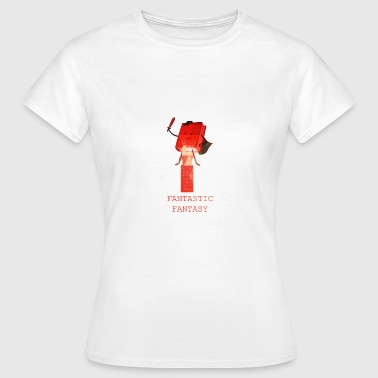 Books book reading fantasy gift idea - Women's T-Shirt