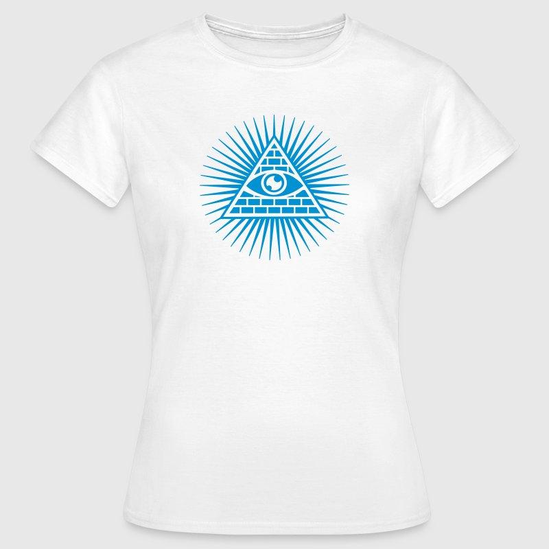 Allsehendes Auge - Auge Gottes - c - Pyramide - Trinität - Symbol ...