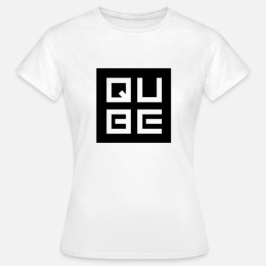 Qubes Red Snapback QUBE - Women's T-Shirt