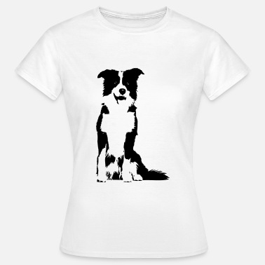 Collie Border-Collie - Frauen T-Shirt