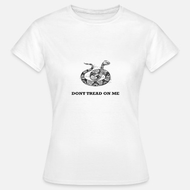 Tread Dont Tread On Me Funny Snakes T-Shirt - Women's T-Shirt