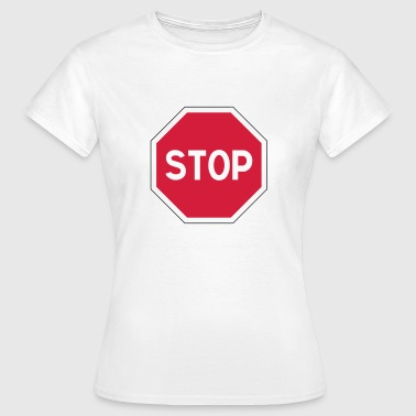 stop sign - Women's T-Shirt