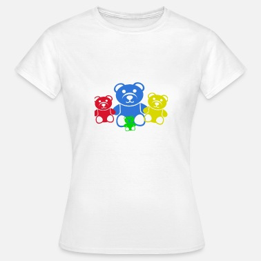 Plaything Toys bears toy childhood gift - Women's T-Shirt