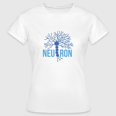 Neurone Bello neurone cerebrale blu - Maglietta da donna