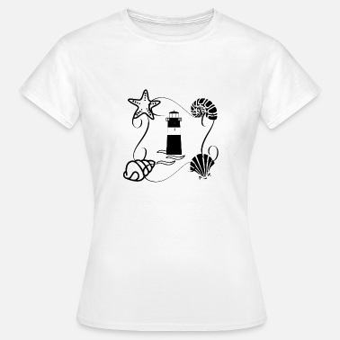 Lighthouse Family Island love 2 lighthouse sea lake love - Women's T-Shirt