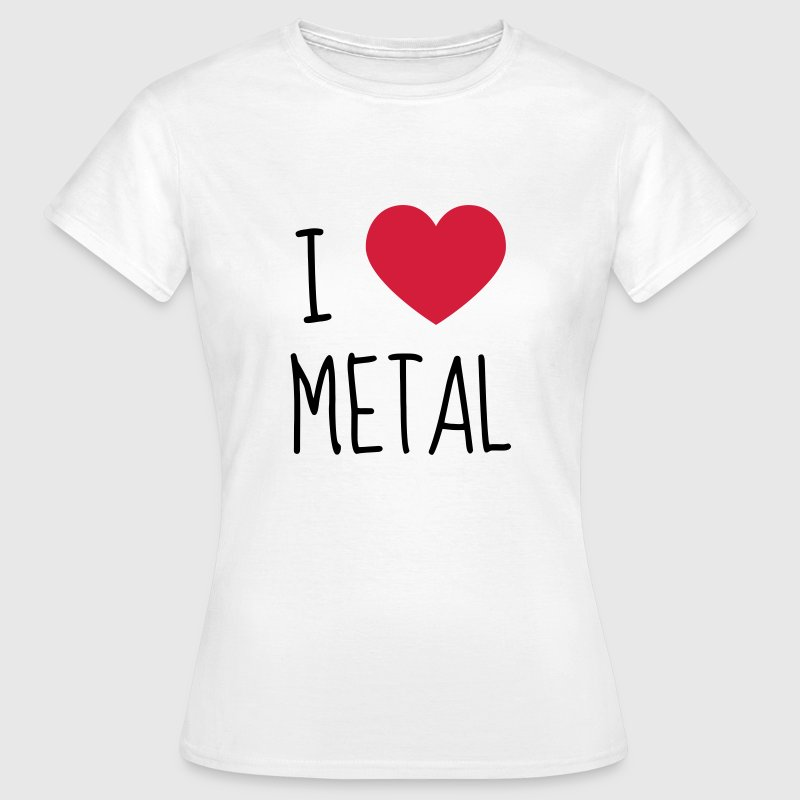Rock / Metal / Punk / Rock 'n' Roll - T-shirt Femme