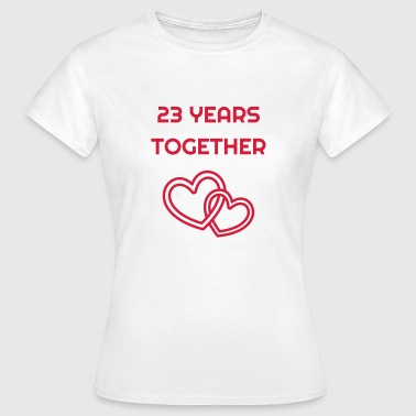 Wedding Marriage 23 - Birthday Wedding - Marriage - Love - Vrouwen T-shirt