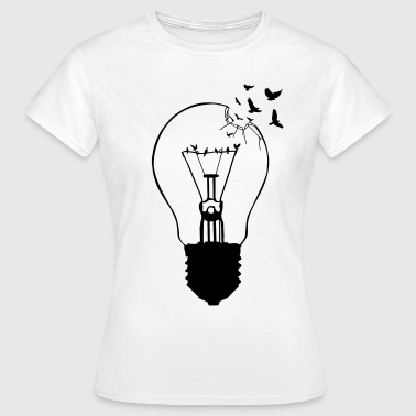 Outlaw, breaking out of the old light bulb - Women's T-Shirt