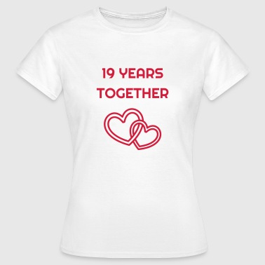 Wedding Marriage 19 - Birthday Wedding - Marriage - Love - Vrouwen T-shirt