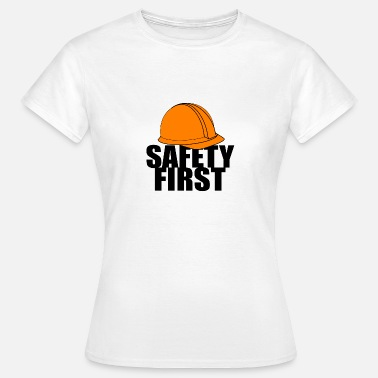 Safety Helmet Safety First Safety First Protective Helmet Protect - Women's T-Shirt