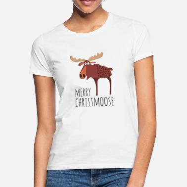 Clause Merry christmoose - Women's T-Shirt