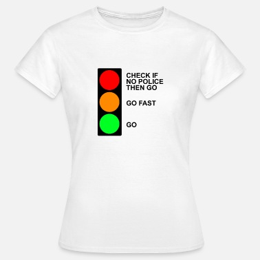 Traffic traffic - Women's T-Shirt
