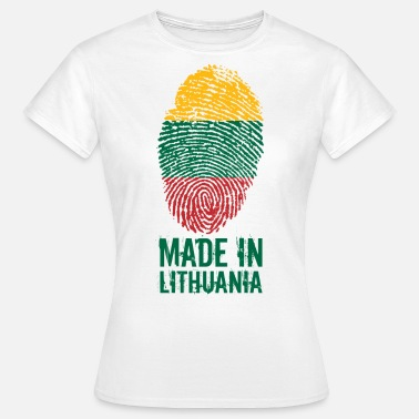 Lietuva MADE IN LITHUANIA / Gemacht in Litauen Lietuva - Frauen T-Shirt