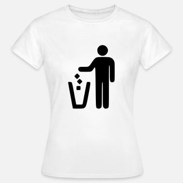 Recycle Müll Recycle - Frauen T-Shirt