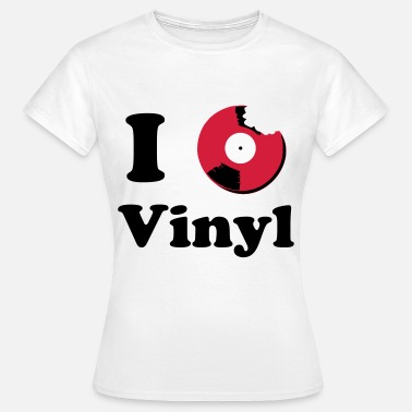 I Love Vinyl I Love Vinyl Music - Women's T-Shirt