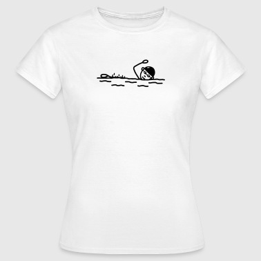 Float - Freestyle Swimming - Women's T-Shirt