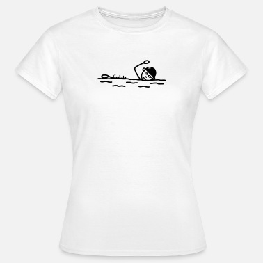 Float Float - Freestyle Swimming - Women's T-Shirt