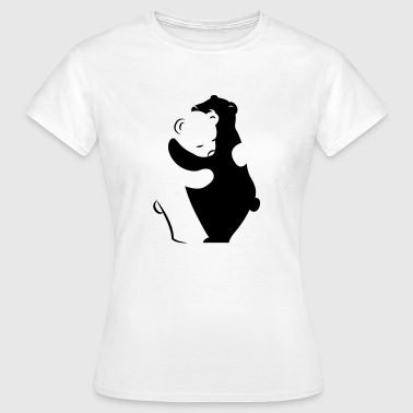 Bears Hugging - Women's T-Shirt