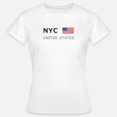 York NYC UNITED STATES dark-lettered 400 dpi - Women's T-Shirt