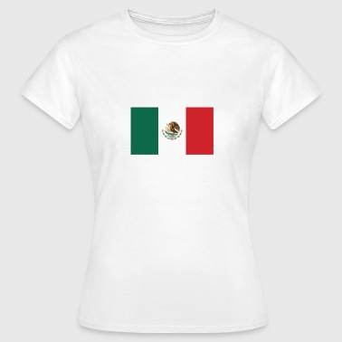 Drapeau national du Mexique - T-shirt Femme
