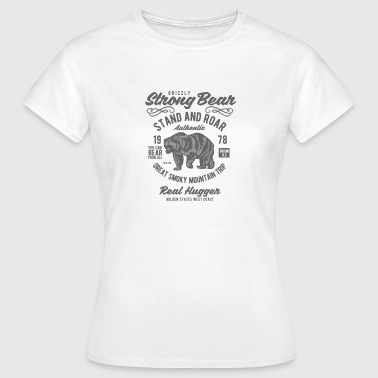Canadian Rockies Bear Canada in the mountains - Women's T-Shirt