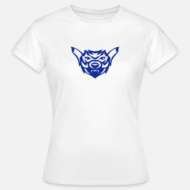 Wolf Tattoo Tribal Tattoo Wolf 1909 - Frauen T-Shirt