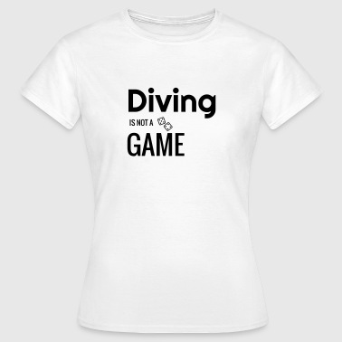 Tauchen / Taucher / Diving / Scuba Diving - Frauen T-Shirt