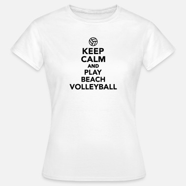 Beachvolleyball Sonne Beachvolleyball - Frauen T-Shirt