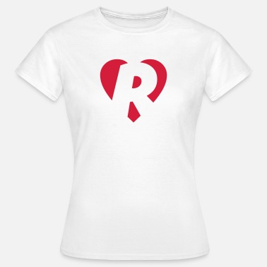 Heart R Heart R - I love R - Women's T-Shirt