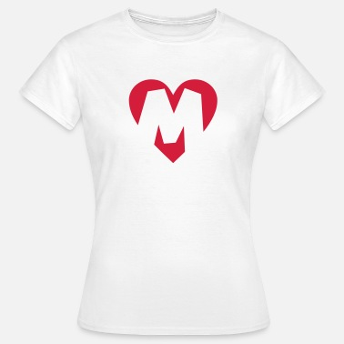 Maddox Heart M - I love M - Women's T-Shirt