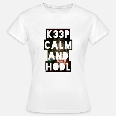 Eos Keep calm and hodl Singapore - Bitcoin - crypto - Women's T-Shirt
