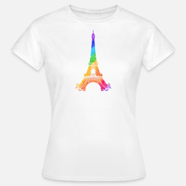 Tower Eiffel tower - Camiseta mujer