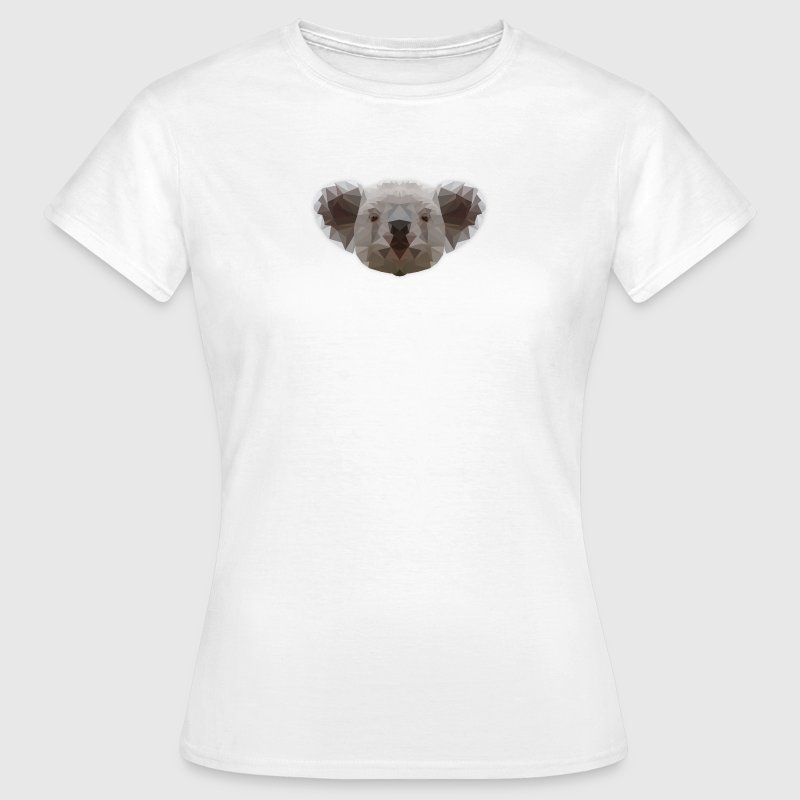 Low Poly Koala - Frauen T-Shirt