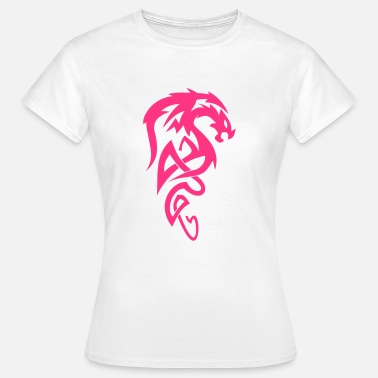 Tribal Dragon Tribal Dragon - T-shirt dam