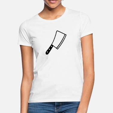 Messen Messer - Frauen T-Shirt