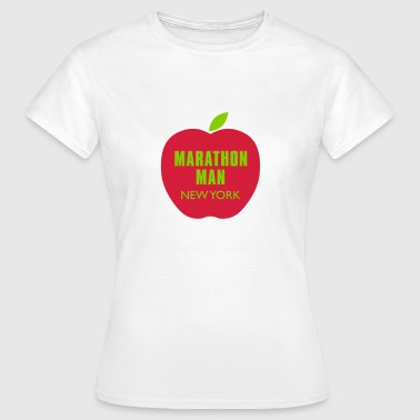 marathon_big_apple_NY_ T-Shirts - Frauen T-Shirt
