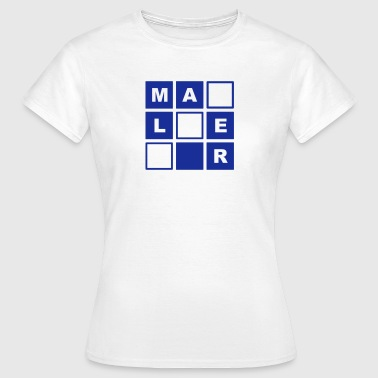 Maler Quadrate - Women's T-Shirt
