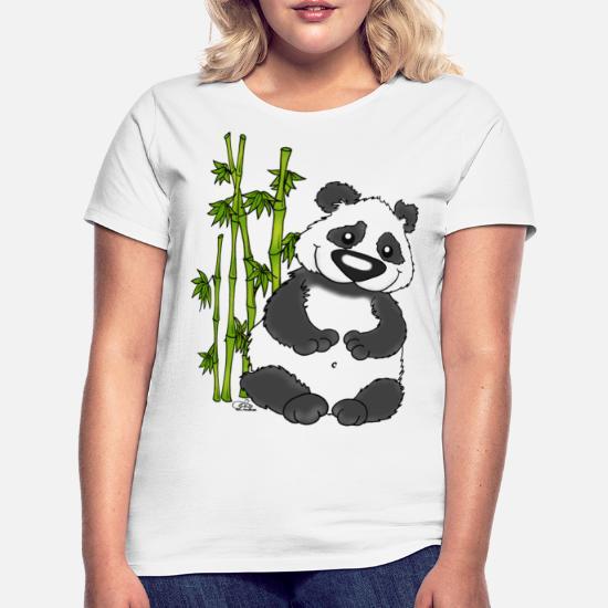 99ef7317 Panda Pao Pao - Women's T-Shirt. Front. Front