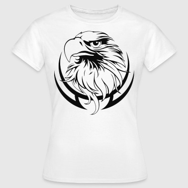 Adler Tattoo Adler Tattoo in Schwarz - Frauen T-Shirt