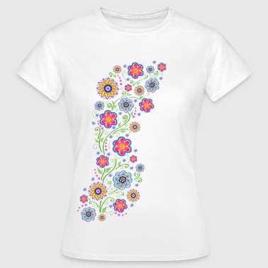 Spring flowers, summer, garden, nature, beautiful - Women's T-Shirt