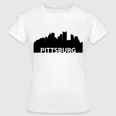 Pittsburgh Pittsburgh Pittsburgh skyline - Women's T-Shirt
