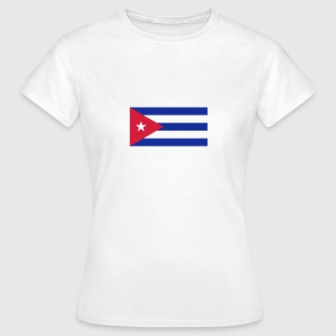 National-socialisme Drapeau national de Cuba - T-shirt Femme