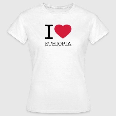 I LOVE ETHIOPIA - Women's T-Shirt