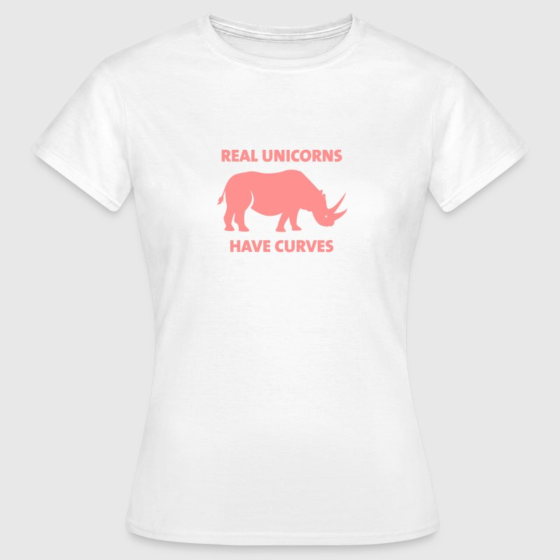 real unicorn - Frauen T-Shirt